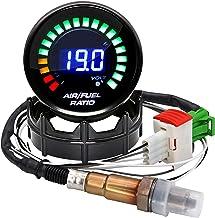 """ARTILAURA 2-1/16 """"52mm Air/Fuel Ratio Gauge LED LED display with Narrowband O2 Oxygen Sensor Car Gauge for Car 12V"""