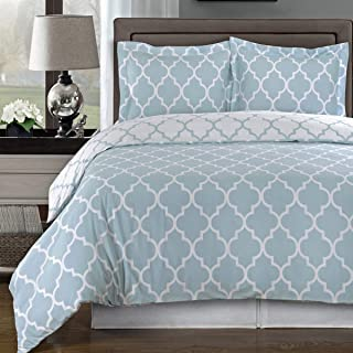 Best light blue and white bedding Reviews