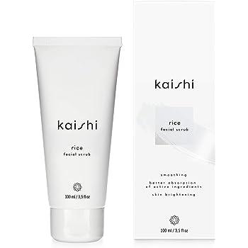 Kaishi - Scrub viso al riso - rimuove la pelle morta, uniforma il colorito, detergente - 100 ml
