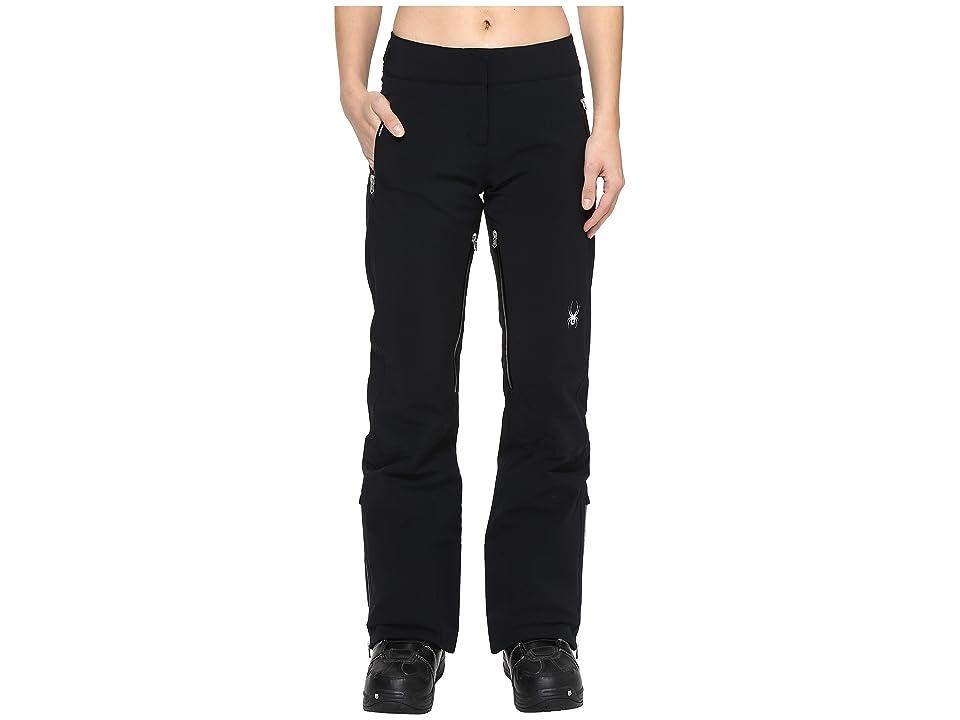 Spyder The Traveler Tailored Fit Pant (Black 1) Women
