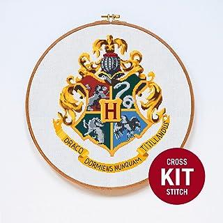 Hogwarts Crest Cross Stitch Kit by Stitchering