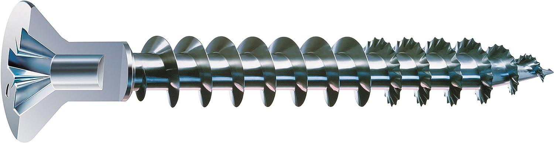 Teilgewinde 5,0 x 45 mm 0291020500455 500 St/ück 4CUT YELLOX SPAX Universalschraube Kreuzschlitz Z2 Senkkopf