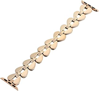Interchangeable Stainless Steel Band Compatible with Your 38/40MM Apple Watch- Straps for use with Apple Watch Series 1,2,3,4,5,6
