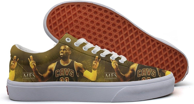 Charmarm Cleveland Basketball  23 King Champion Women Comfortable Walking shoes