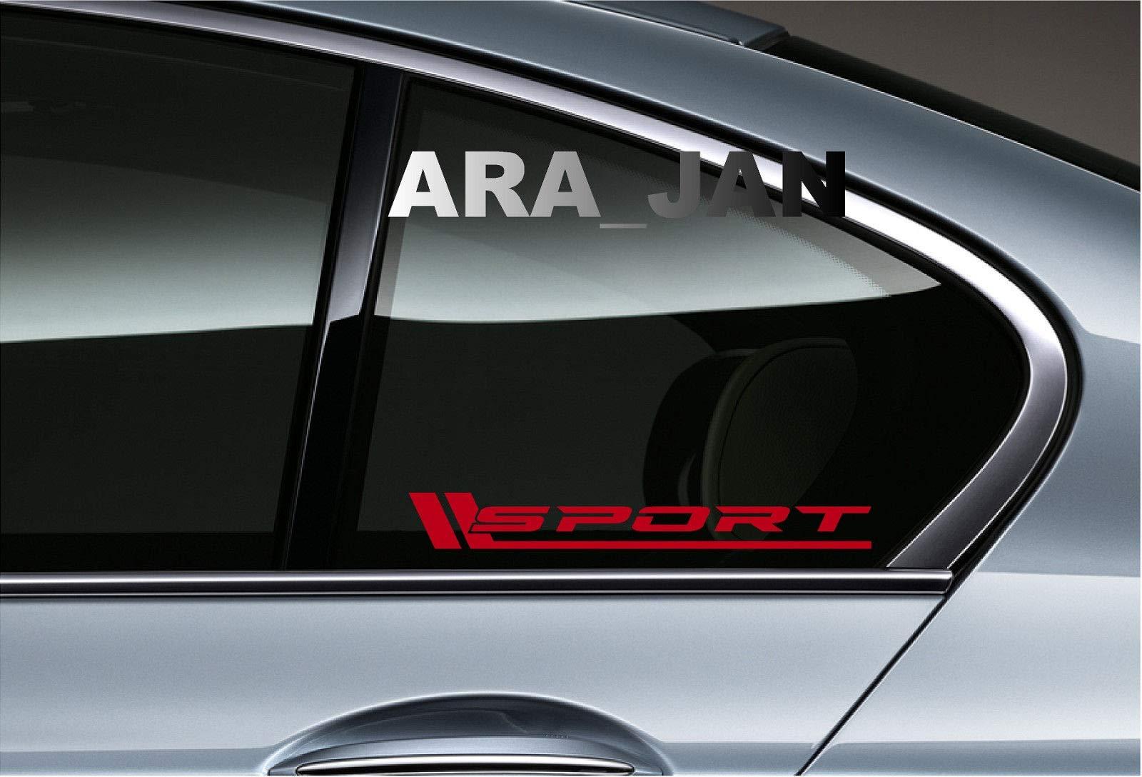 POWERED BY SPORT Vinyl Decal Sticker Emblem logo Racing Motorsport Car Truck