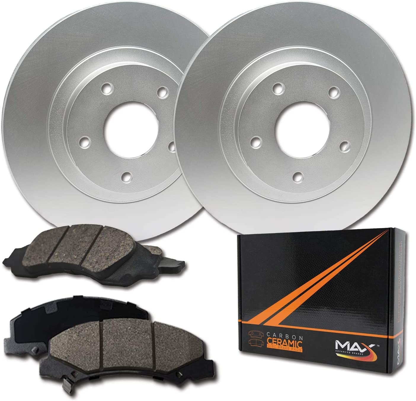 Front Max Brakes Geomet Ranking TOP19 OE Rotors KT0 Ceramic Carbon OFFicial store with Pads