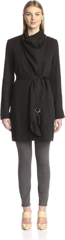 Vince Camuto Women's Fluid Wrap Coat