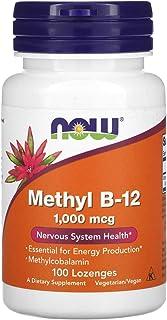 Now Foods Methyl B-12 1000 mcg - 100 Lozenges