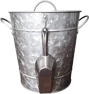 vintage bucket with lid