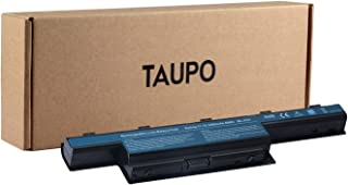 TAUPO New Lithium-Ion Laptop Battery Compatible with Acer AS10D31 AS10D81 AS10D51 AS10D41 AS10D73 AS10D75 AS10D61 AS10D71 AS10D3E AS10D56 31CR19/65-2 31CR19/66-2 -[4400mAh/49Wh]