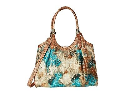 Brahmin Celia Vitoria Satchel (Bird of Paradise) Handbags