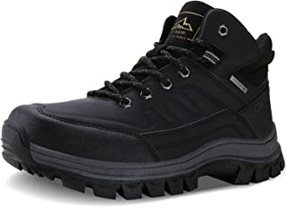 Men's Insulated Cold-Weather Boots Durable Hiking Boots