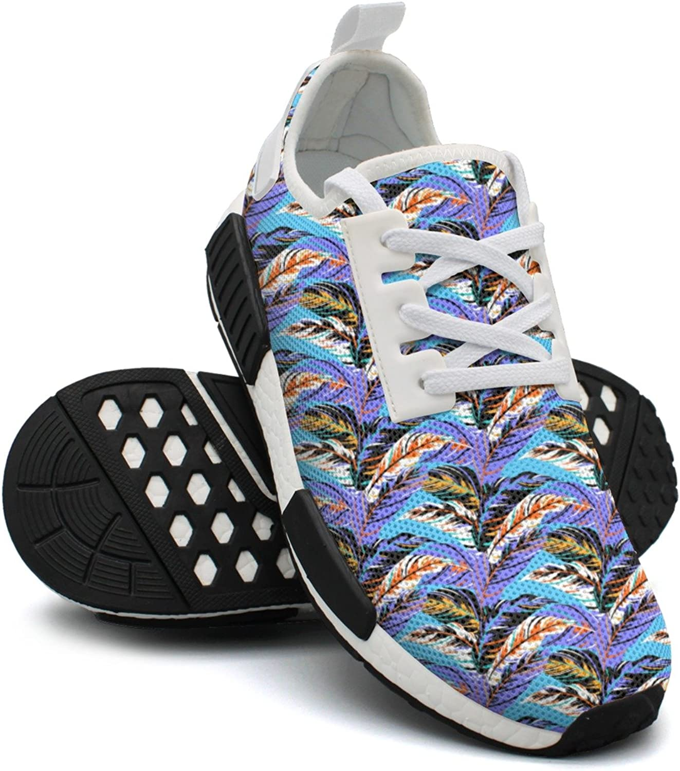 Autumn Pattern Breathable Running shoes Womens Nmd Gym Running shoes