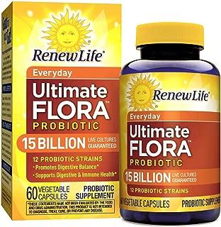 Renew Life Ultimate Flora每日益生菌- 150亿- 60粒蔬菜胶囊