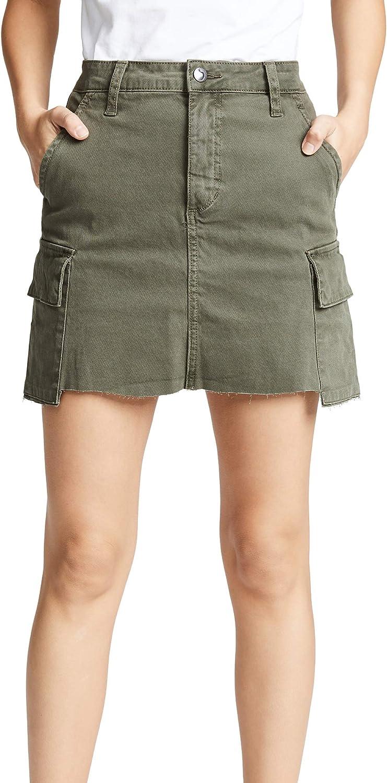 Joe's Jeans Women's Army High Rise Cargo Skirt