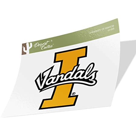 State Boarder Sticker University of Idaho Vandals NCAA Vinyl Decal Laptop Water Bottle Car Scrapbook