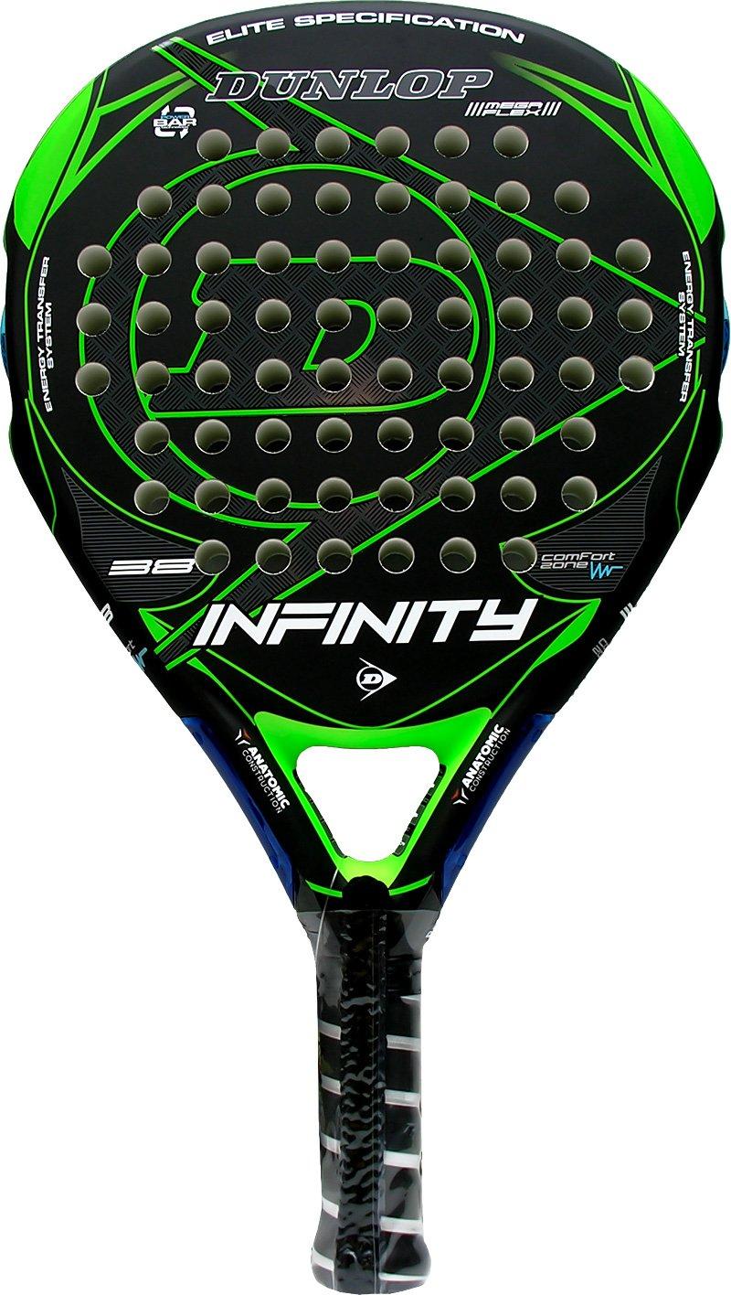 Pala de pádel Dunlop Infinity Green 2016: Amazon.es: Deportes y ...