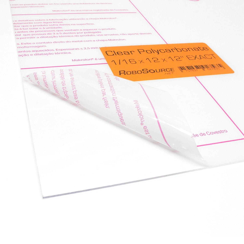 Polycarbonate Plastic Sheet 12