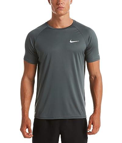 Nike Essential Short Sleeve Hydroguard (Iron Grey) Men