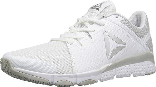 Reebok Wohommes Trainflex Cross-Trainer chaussures, blanc Skull Metallic argent gris, 6.5 M US