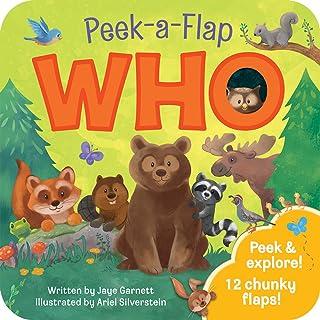 Who: Peek a Flap Childrens Board Book