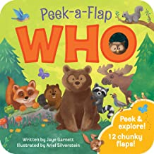Who: Peek-a-Flap Board Book