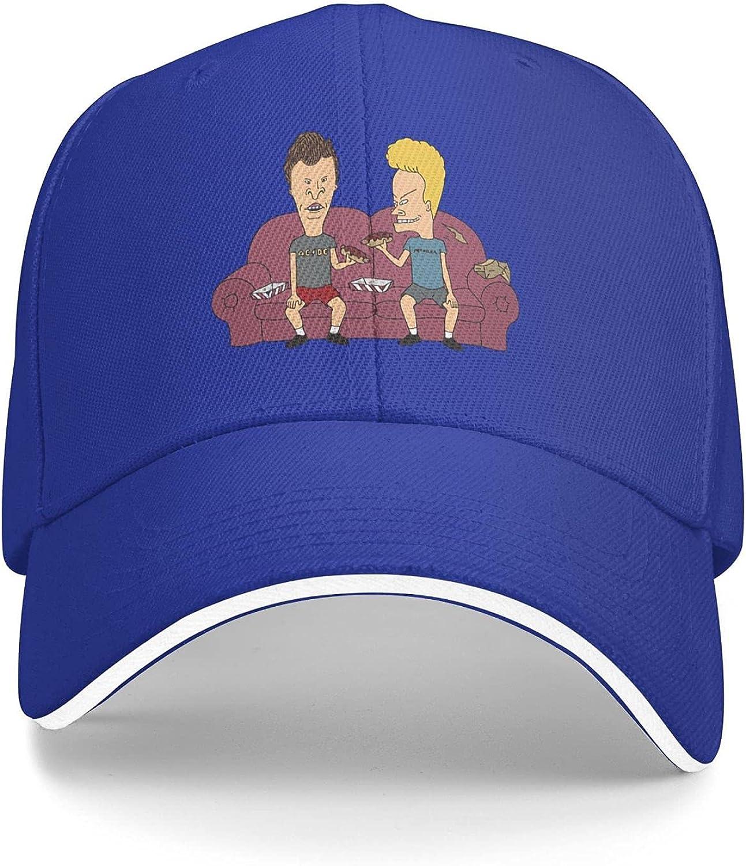 Beavis and Butt-Head Cap Unisex Outdoor Sport Adjustable Dad Truck Driver Cap Casquette Baseball Caps.