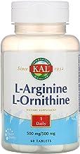 Kal 1000 Mg L-arginine L-ornithine Tablets, 60 Count