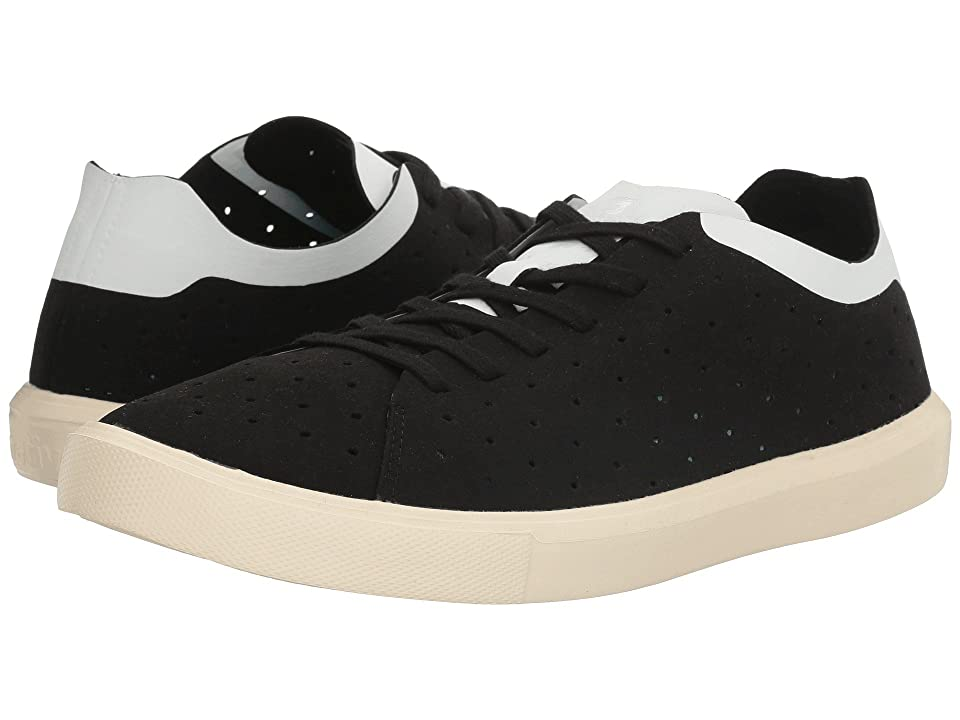 Native Shoes Monaco Low (Jiffy Black/Shell White/Bone White) Lace up casual Shoes