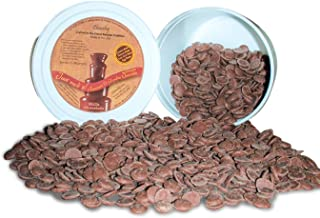Chocoley Fountain & Fondue Chocolate - 5 Lbs - Just Melt It! Chocolate - 2 x 2.5 Pounds Tubs of Dark, Milk, or White Chocolate (Milk Chocolate)