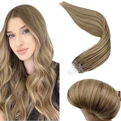 Mit blonden strähnen goldbraun Haarfarbe Braun