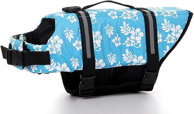 GabeFish Dog Max 60% OFF Life Jacket Vest Safety Save Kansas City Mall Harness Collar Clothes