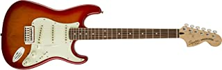 Squier by Fender 321602509 Standard Stratocaster Electric Guitar - Candy Apple Red - Maple Fingerboard
