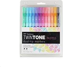 Tombow TwinTone Markers (Pastel)