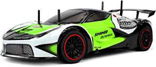 Velocity Toys Remote Control 2.4 Ghz 1: 10 Scale RTR Piranha Racer Supercar with Lithium Battery, Awesome RC Racing Car