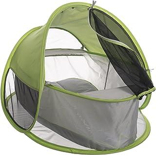 Bieco 37000100 – Pop up Baby resesäng med UV-skydd och insektsskydd, ca 92 x 73 x 64 cm