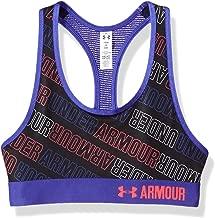 Under Armour girls HeatGear Armour Printed Sports Bra