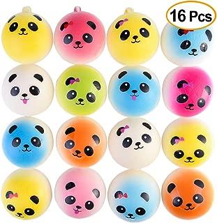 Best pink panda bun squishy Reviews