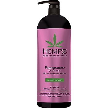 Hempz Hempz moisturizing conditioner, white, pomegranate, 33.8 fluid ounce, 33.8 Ounce