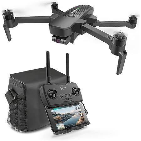 HUBSAN ドローン三軸ジンバル 超高精細4K UHDカメラ 折り畳み式 GPS搭載 ブラシレスモーター 最大飛行時間39 分 最大飛行距離2km 空撮ドローンZINO PRO PLUS H117P-J(キャリングバック・バッテリー2本)