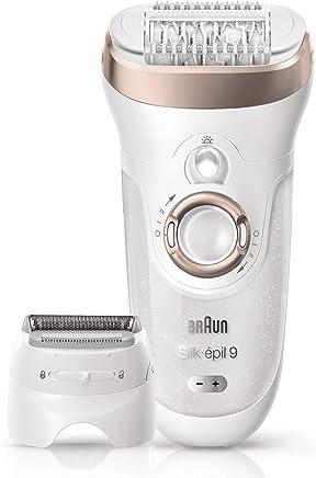 Braun Silk-Épil 9 9-561 Wet&Dry Epilatore Elettrico senza Fili con 6 Accessori Extra