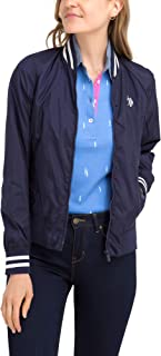U.S. Polo Assn. Women's Bomber Windbreaker