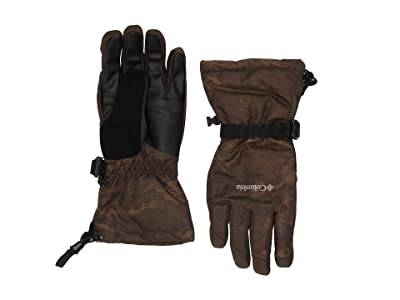 Columbia Whirlibirdtm Gloves (Olive Green Mountains Jacquard) Snowboard Gloves