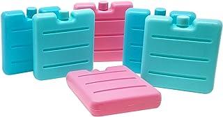 ToCi–Acumuladores pequeños en Azul, Rosa y Verde | Mini Nevera y Elementos para la Nevera Funda | Nevera y batería para la–Fiambrera
