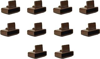 confezione da 10 Slot in 63/mm Bed Slat Holders tappi per cornici di metallo