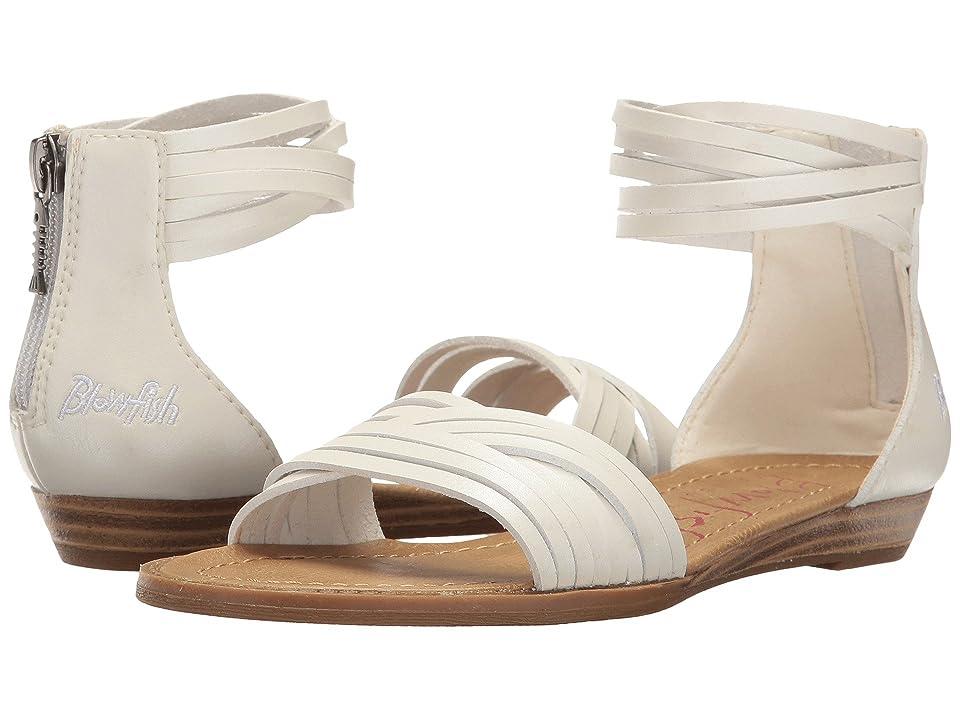 Blowfish Kids Baot-K (Little Kid/Big Kid) (Pearl White Dyecut PU) Girls Shoes