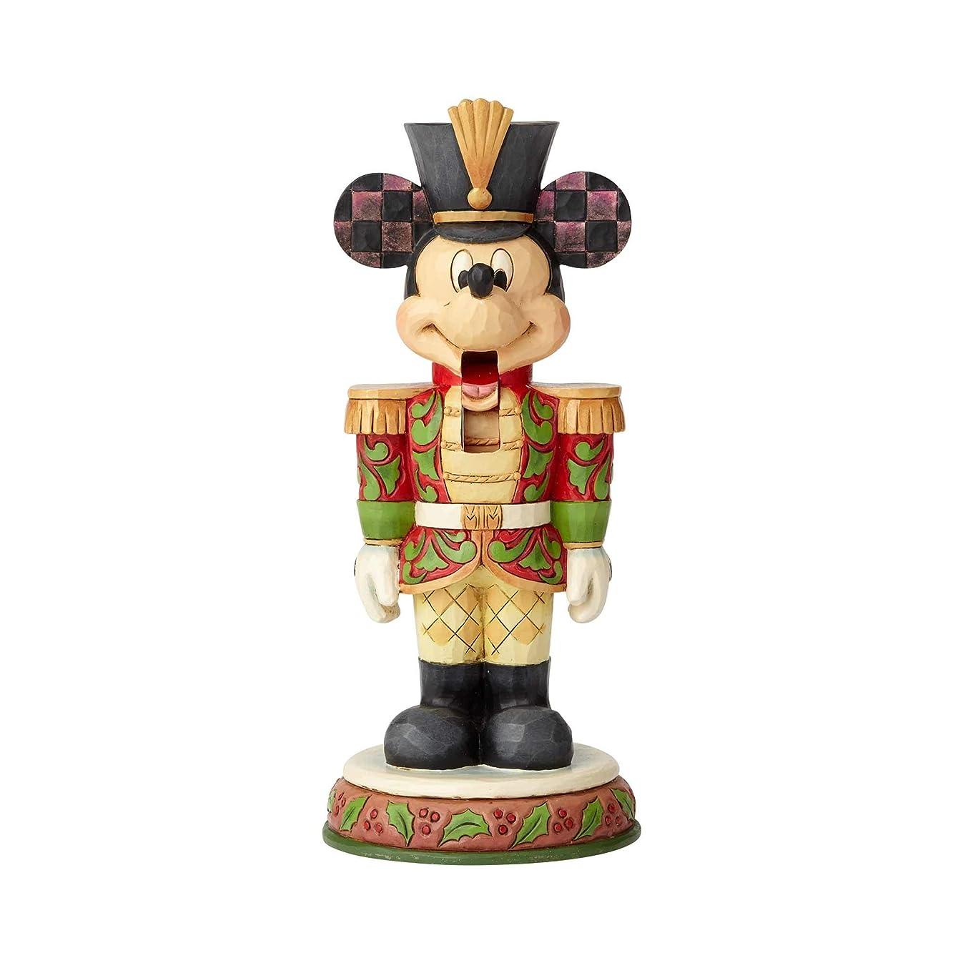Enesco Disney Traditions by Jim Shore Mickey Mouse Nutcracker Figurine 7