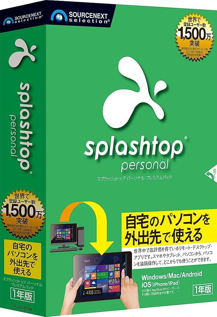 単なる安心修羅場Splashtopプレミアム|1年版