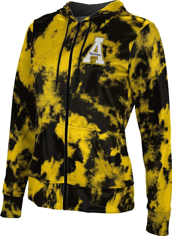 ProSphere Appalachian State University Girls' Zipper Hoodie, School Spirit Sweatshirt (Grunge)