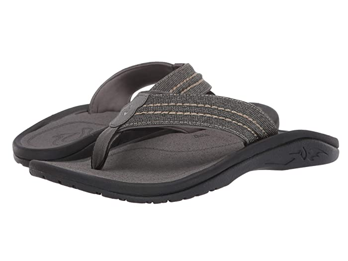 Hokua Mesh  Shoes (Clay/Charcoal) Men's Sandals